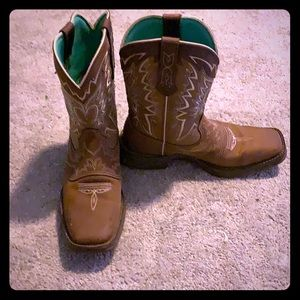 Durango Cowgirl boots! ONLY WORN ONCE!
